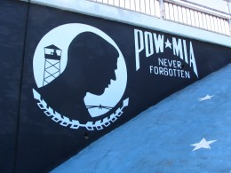Wilshire Blvd Part 6: POW MIA never forgotten