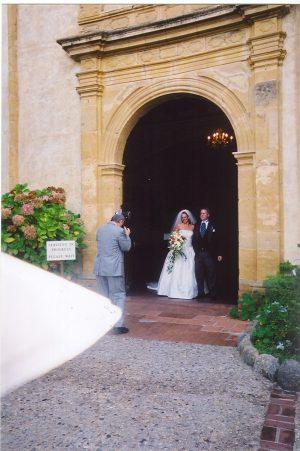 21 Missions: Carmel wedding
