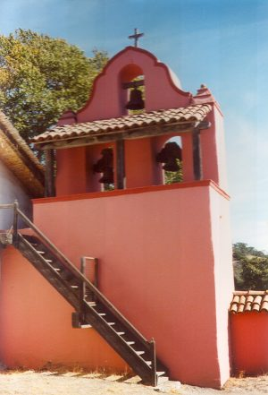 21 Missions: La Purisima bell tower