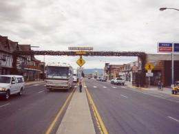 Afton, Wyoming Antler Arch