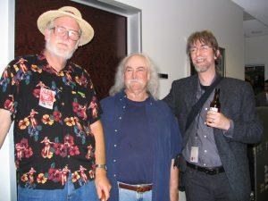 CSNY: John Varley, David Crosby, Spider Robinson