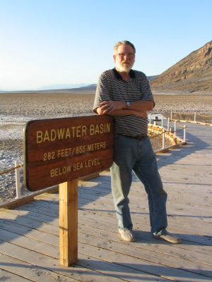 Death Valley: John Varley, Badwater Basin