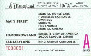 Disneyland and California Adventure Part 4: A ticket