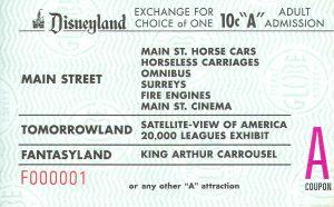 Disneyland and California Adventure Part 4: A ticket