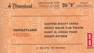 Disneyland and California Adventure Part 4: B ticket