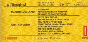 Disneyland and California Adventure Part 4: D ticket