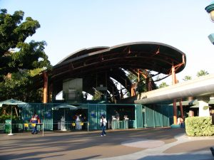 Disneyland and California Adventure Part 4: Monorail Station