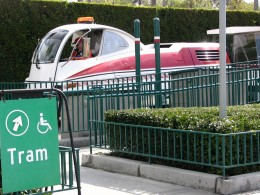 Disneyland and California Adventure Part 4: Tram