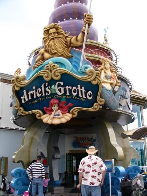 Disneyland and California Adventure Part 5: Ariel's Grotto