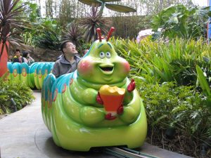 Disneyland and California Adventure Part 5: Heimlich's Chew Chew Train