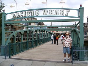 Disneyland and California Adventure Part 5: John Varley at Pacific Wharf