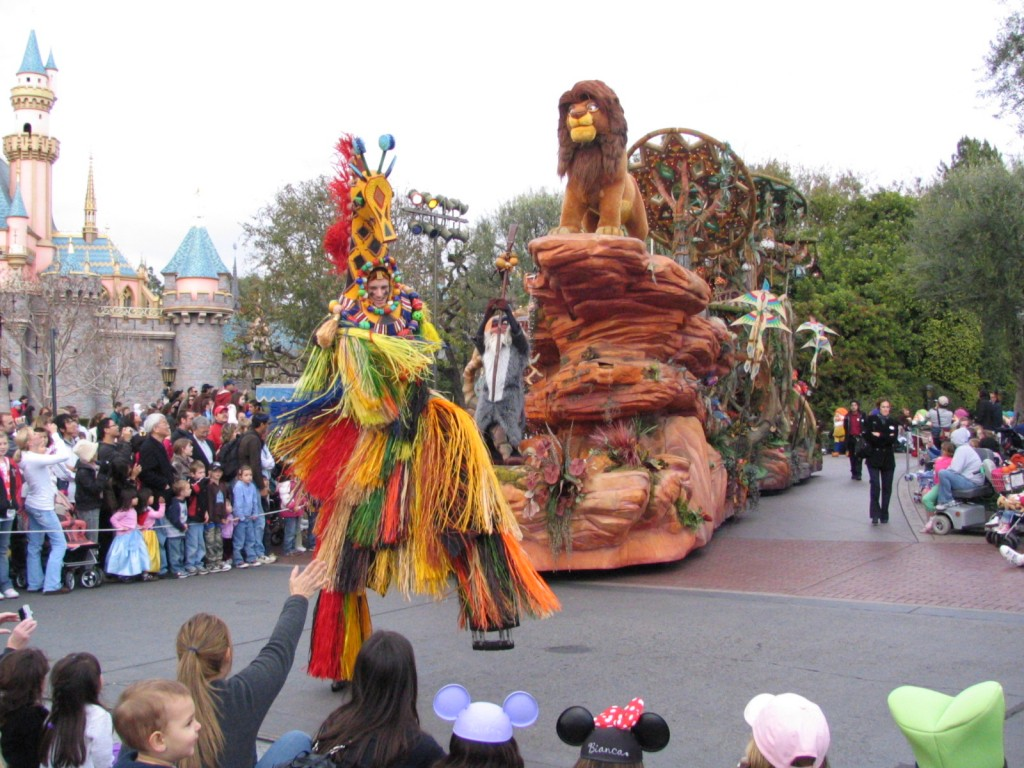 Disneyland and California Adventure Part 5: Lion King