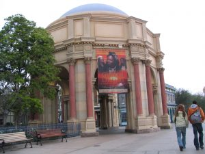 Disneyland and California Adventure Part 5: Palace of Fine Arts Rotunda