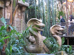 Disneyland and California Adventure Part 6: 2 serpents