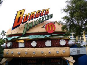 Disneyland and California Adventure Part 6: Burger Invasion