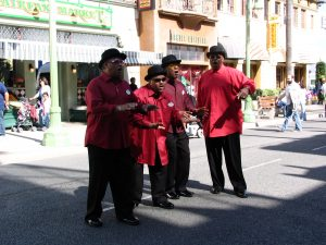 Disneyland and California Adventure Part 6: Doo Wop Quartet