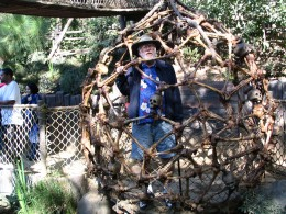Disneyland and California Adventure Part 6: John Varley in a cage