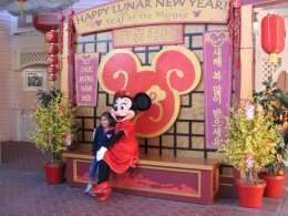 Disneyland and California Adventure Part 6: Minnie at Happy Lunar New Year