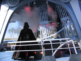 Disneyland and California Adventure Part 7: Darth descending