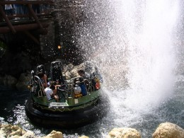 Disneyland and California Adventure Part 7: Grizzly River Run 3