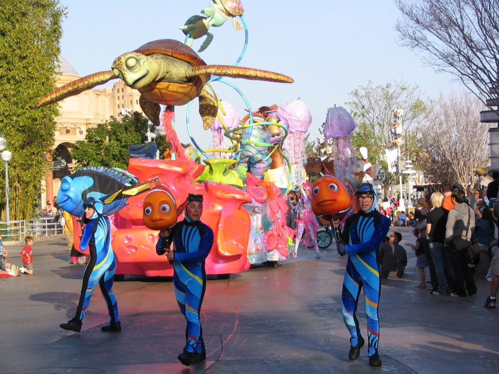 Disneyland and California Adventure Part 7: Nemo