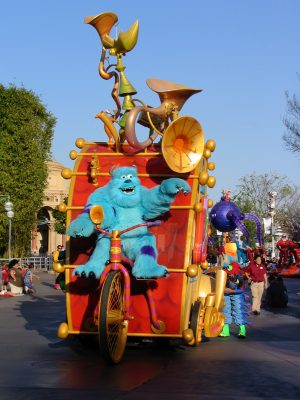 Disneyland and California Adventure Part 7: Sully, one man band