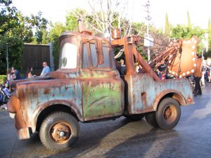 Disneyland and California Adventure Part 7: Tow Mater