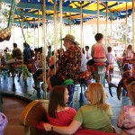 Disneyland and California Adventure Part 8: John Varley on King Triton Carousel