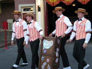 Disneyland and California Adventure Part 9: Dapper Dans