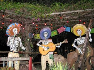Disneyland and California Adventure Part 9: Mexican Calacas