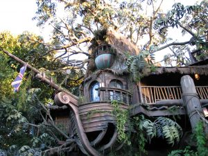Disneyland and California Adventure Part 9: Tarzan's Treehouse