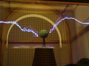 Griffith Observatory: Tesla Coil