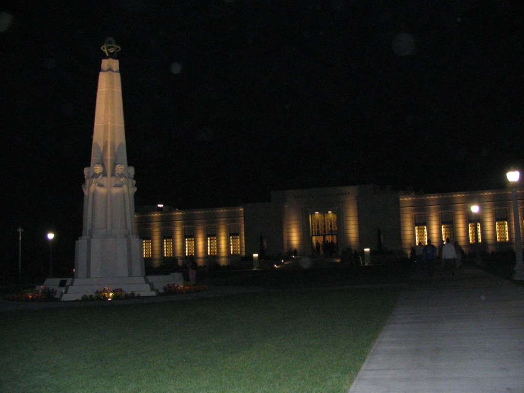Griffith Observatory: night 1