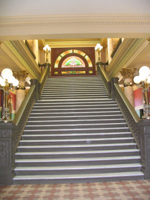 Helena, Montana Capital stairs