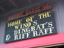 Historic Barge Inn, Newport OR
