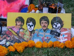 Hollywood Forever Day of the Dead: Sgt Pepper Calaca