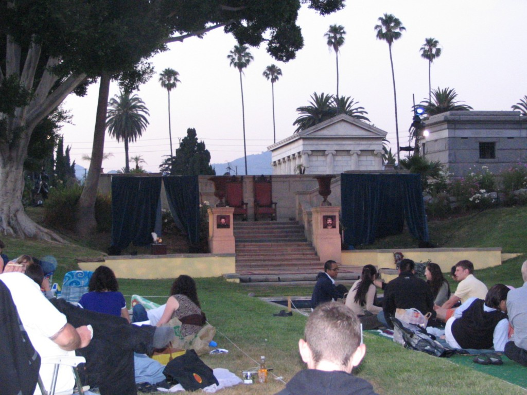 Hollywood Forever Hamlet: The Stage