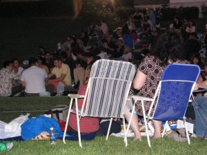 Hollywood Forever Hamlet: the audience