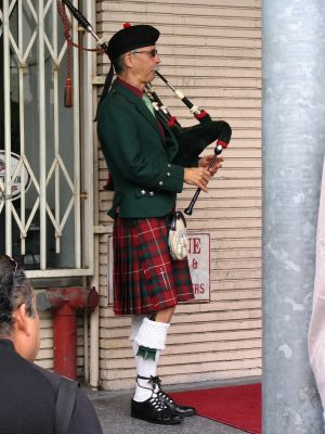 James Bacon: Bagpiper