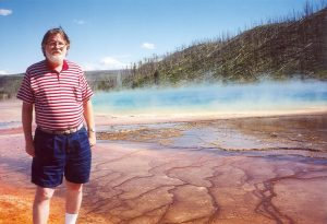 John Varley at Yellowstone