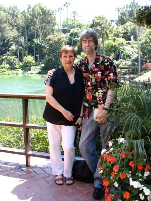 Lake Shrine: Spider & Jeanne Robinson 1