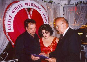 Little White Wedding Chapel: Tom & Gina Manos