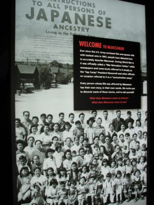 Manzanar: instructions to all persons of Japanese ancestry
