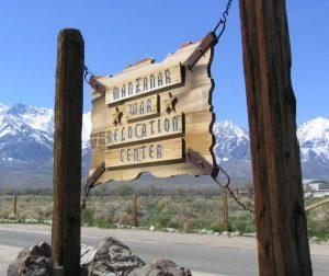 Manzanar: sign
