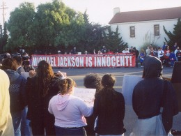 Michael Jackson Is Innocent banner