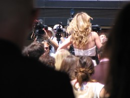 Michelle Pfeiffer's back
