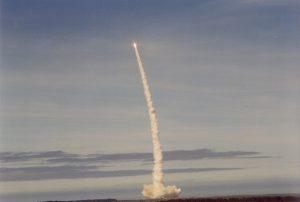 NASA Gravity Probe B launch 9