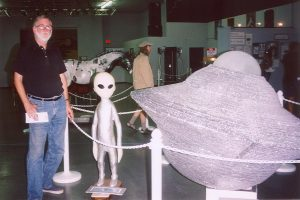 Roswell NM UFO Museum: John Varley 2