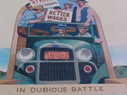 Steinbeck Center mural: In Dubious Battle