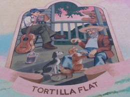 Steinbeck Center mural: Tortilla Flats